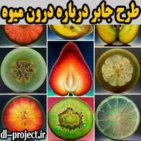 طرح جابر با موضوع درون میوه