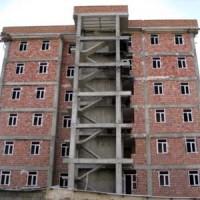 گزارش کارآموزی رشته عمران احداث ساختمان مسکونی