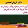 گزارش تخصصی دانش آموز بیش فعال در درس فارسی دوم راهنمایی