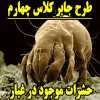 طرح جابربن حیان با موضوع حشرات موجود در غبار