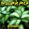 نمونه طرح جابربن حیان چیزهای روی گیاه
