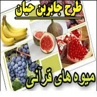 طرح جابر با موضوع میوه های قرآنی